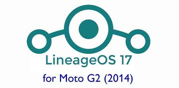 Download LineageOS 17 for Moto G2
