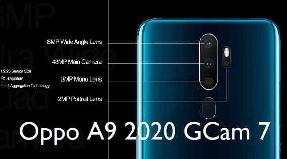 Download Google Camera 7.0 for Oppo A9 (2020)