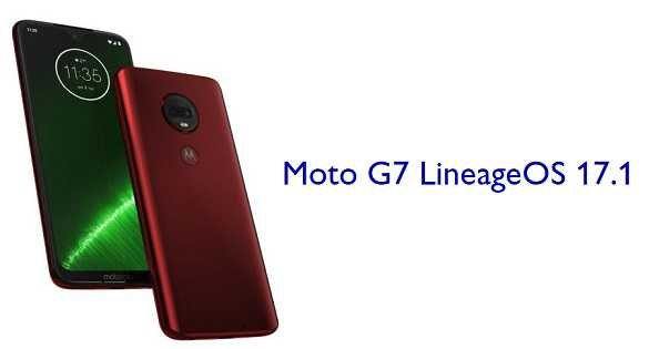LineageOS 17.1 for Moto G7 (river)