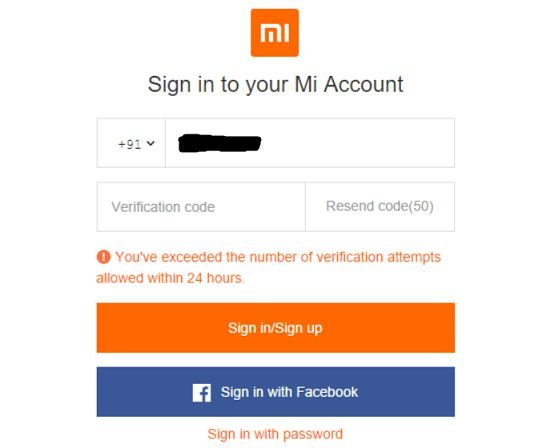signin to mi account