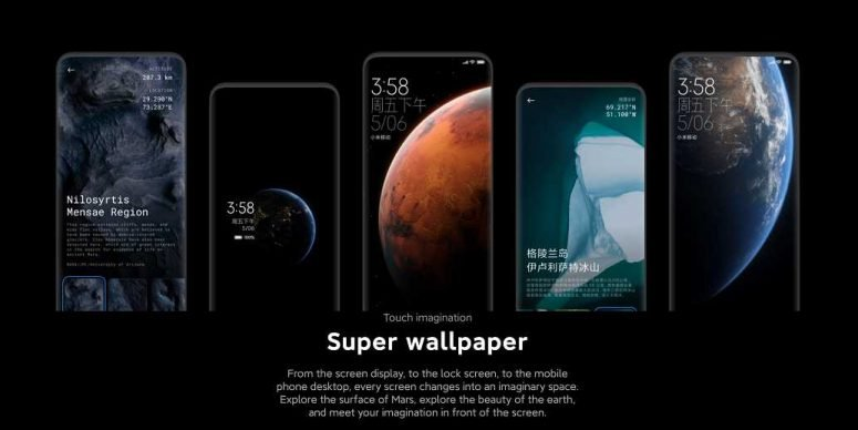 miui 12 super wallpaper demo