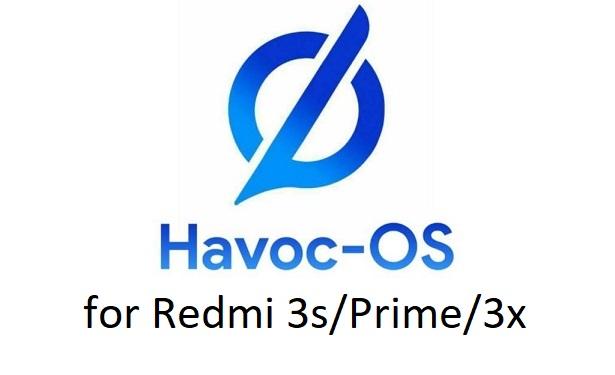 Havoc OS Androi 10 Redmi 3s