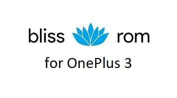 Bliss ROM 12 OnePlus 3