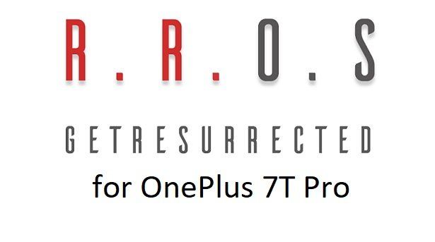 RR ROM Android 10 OnePlus 7T Pro