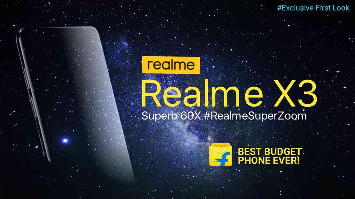 Realme X3 Superzoom With 108mp Camera Launching On Flipkart