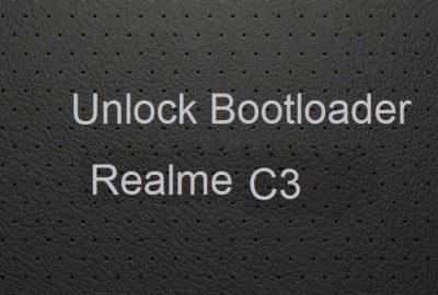 Unlock Bootloader Realme C3