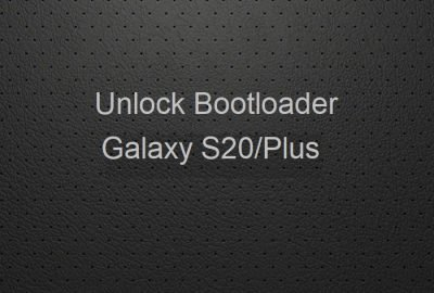 unlock bootloader Galaxy S20+