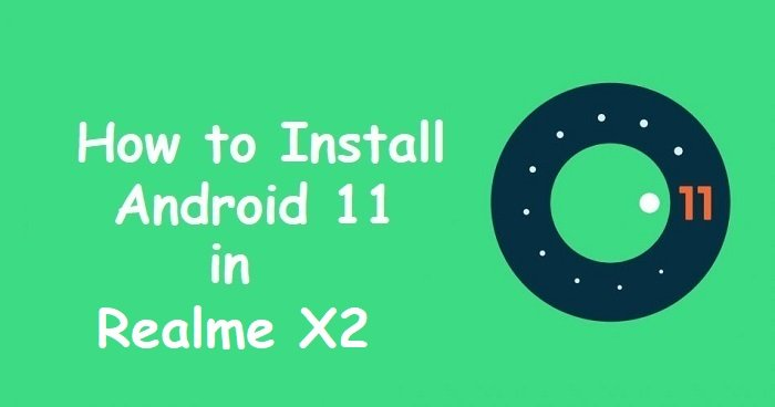 android 11 Realme X2