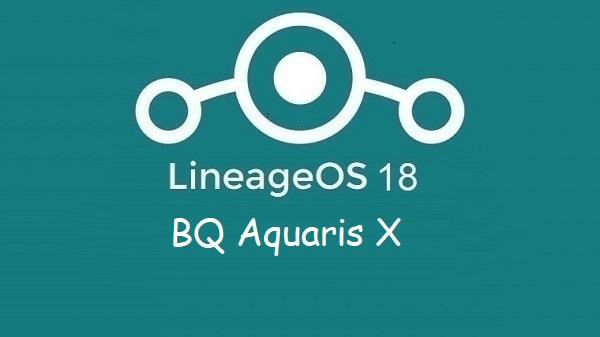 Lineage Os 18 BQ Aquaris X