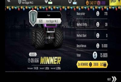 top speed drag racing mod